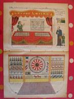 Découpage Diorama à Construire. Grande Loterie. Fête Foraine. 1936 - Old Paper