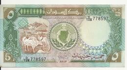SOUDAN 5 POUNDS 1989 XF+ P 40 B - Sudan