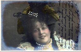POSTCARD POSTALE PHOTO TARJETA POSTAL BEAUTIFUL YOUNG GIRL CIRCA 1920- NTVG. - Fotografía