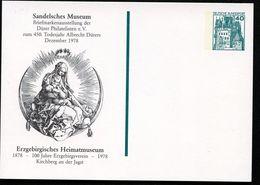 ALBRECHT DÜRER MADONNA Germany STO Postal Card PP100 C2/013 Kirchberg Jagst 1978 - Madonnen