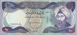 IRAK 10 DINARS 1982 XF+ P 71 - Iraq