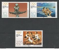 East Germany - 1980 Olympic Games, Moscow MNH** C.V. 2,20 Euro!! - [6] Repubblica Democratica