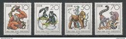 East Germany - 1986 Monkeys MNH** - [6] Repubblica Democratica