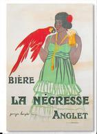 Bière LA NEGRESSE - ANGLET - Reclame