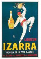 Liqueur IZARRA - Liqueur De La Côte Basque - Reclame