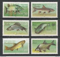 East Germany - 1988 Fishes MNH** - [6] Democratic Republic