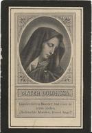 DP. MARIA ELST ° WUESTWEZEL 1859- + LOENHOUT 1926 - Religion & Esotérisme