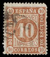 Spain - 1867 - 10m Yv.94 - Used - 1850-68 Kingdom: Isabella II