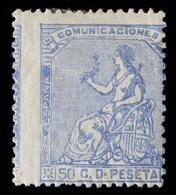 Spain - 1873 - 50c Yv.136 - MH - 1873 1. Republik