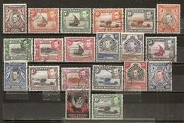 Kenya Ouganda Tanganyika 1938 Vues Animaux Views Animals Etc Obl (Pnd Stamp Included But With Pulled Perf) - Kenya, Uganda & Tanganyika