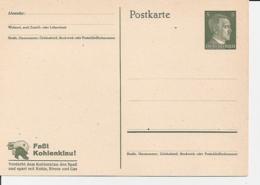 DR P 311 ** - 5 Pf Hitler Mit Werbespruch Faßt Kohlenklau, Verderbt - Enteros Postales