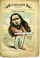 LES HOMMES D'AUJOURD'HUI No 2 Dessins De Gill. Léon CLAUDEL . 20 Septembre 1878 4 Pages - Journaux - Quotidiens
