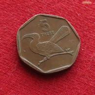 Botswana 5 Thebe 1998 KM# 26 Bird Botsuana - Botswana