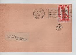 CBPND6/ TP 258 ,Orval S/CP Les Fastes Belges C.méc.BXL Q.L. 8/2/1930 > E/V  C.facteur 302 D - Belgio