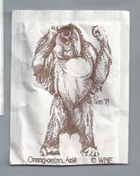 Suikerzakje.- WNF. Orang-oetan Azië. Tekening Piers '79. Azucar. Suiker Sucre Zucchero Zucker Sugar - Azúcar