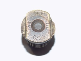 German C/23 Brass Electric Primer / Fuse 3,7cm KwK - Armi Da Collezione