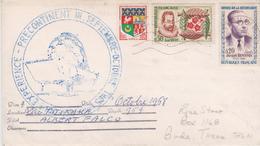 YT 1230A 1286 1288 CAD Marseille Cachet Expérience Précontinent III Sept/ Oct Lac Titicaca Expédition J Cousteau A Falco - Storia Postale
