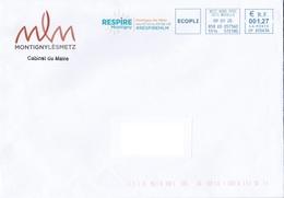 Enveloppe De Montigny-Lès-Metz - Cabinet Du Maire - 57 Moselle - Frankreich