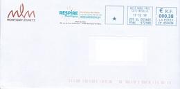 Enveloppe De Montigny-Lès-Metz - 57 Moselle - Frankreich