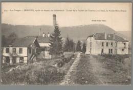 CPA 88 - Senones - Après Le Départ Des Allemands - Usine De La Vallée Des Gouttes - Au Fond, La Roche Mère Henry - Senones