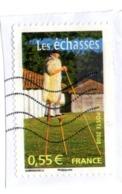 4268 2008 Les échasses (berger Landais) Tradition - Traditionnel - échasses - Berger - Maison - Laine - Colombage - Cann - Used Stamps