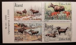 Aland 2000 / Yvert N° 171-174 / ** / Faune Elan - Aland