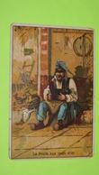 """Chromo Image Récompense D'école Vers 1900 - FABLE DE LA FONTAINE -La Poule Aux œufs D'Or -Alcide PICARD """"état"""" / 31 - Unclassified"""