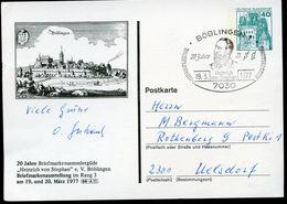 Sost. Heinrich V. Stephan 1977 Auf Bund PP100 D2/001 BÖBLINGEN ALTES STADTBILD - Post