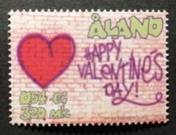 Aland 2001 / Yvert N°190 / ** / Saint Valentin - Aland
