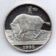 MONGOLIA, 500 Tugrik, Silver, Year 1995, KM #95 - Mongolia