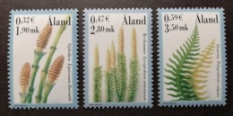 Aland 2001 / Yvert N°187-189 / ** / Plantes à Spores - Aland