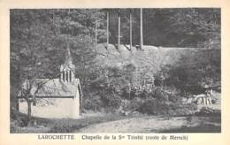 LUXEMBOURG - LA ROCHETTE : Chapelle De La Sainte Trinité ( Route De Mersch ) CPA - Larochette