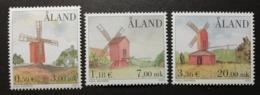 Aland 2001 / Yvert N°192-194 / ** / Moulins - Aland