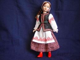 Porcelain Doll In Cloth Dress   - Minsk- City Province - Russian Federation - Dolls