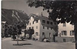 MOENA-TRENTO-VAL DI FASSA-ALBERGO=POSTA=-CARTOLINA VERA FOTOGRAFIA VIAGGIATA  IL 22-7-1954 - Trento
