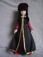 Porcelain Doll In Cloth Dress Of Kalmyk Republic  - Russian Federation - Dolls