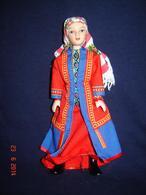 Porcelain Doll In Cloth Dress -Khanty Republic - Russian Federation - - Dolls