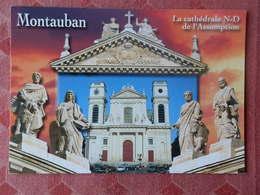 Dep 82 , Cpm  MONTAUBAN , La Cathédrale N.D. De L'Assomption   (16.403) - Montauban