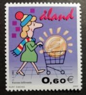 Aland 2002 / Yvert N°198 / ** / Mise En Circulation De L'Euro - Aland