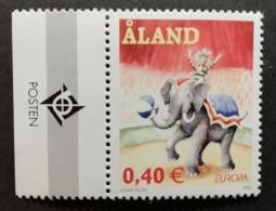 Aland 2002 / Yvert N°207 / ** / Europa Cirque - Aland