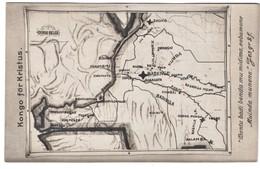 Jesus Christ For Congo Swedish Missionary Post Card Map Card - Congo - Kinshasa (ex Zaire)