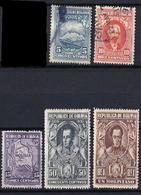 1931-5 Bolivia 8v. - Bolivie