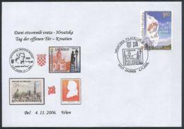 Croatia, 2006, Mozart, Meeting In Vienna, Spec Postmark - Croazia