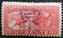 Timbre Local Patriotique De Seville N° 52 Neuf Charnière - Nationalistische Ausgaben