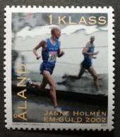 Aland 2002 / Yvert N°213 / ** / Hommage à Janne Holmen - Aland
