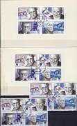 Schweden 2422/5+4-Block Aus MH 300,EIRE 1611/4+VB Cards O 33€ Literatur Nobel-Preis 2004 Art Blocs Sheet Bf Sverige - Joint Issues