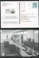 POSTAUTOMATION AUTOMATISCHER ANSCHRIFTENLESER Bund PP100 D2/011 Frankfurt 1978 - Post