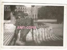 WW2 TOP RARE PHOTO ORIGINALE Soldat Slovène Sous Uniforme Allemand (lire) à GRENOBLE Caserne De Bonne 38 ISERE été 1944 - 1939-45
