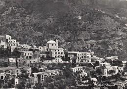 POSITANO-SALERNO-CHIESA NUOVA-CARTOLINA VERA FOTOGRAFIA - VIAGGIATA IL 31-1-1966 - Salerno