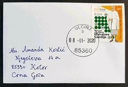 2020 Mini Cover 11.2 X 7.5 Cm, Ulcinj To Kotor Montenegro, 2019 The 150th Anniversary Of Birth Of Mohandas Gandhi - Montenegro